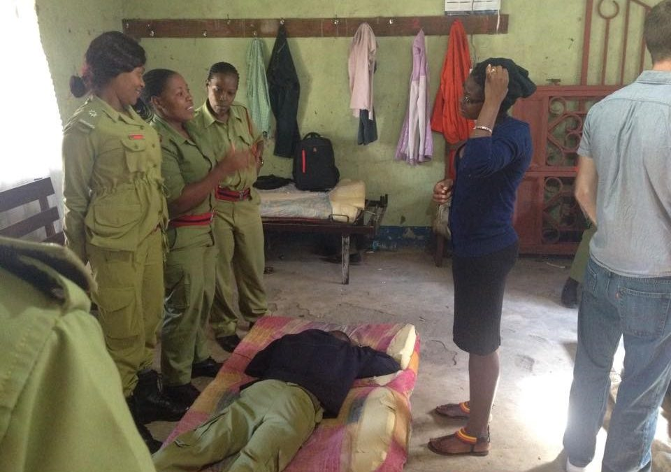 TRHM Strengthening Programs with All Female Emergency Response Teams